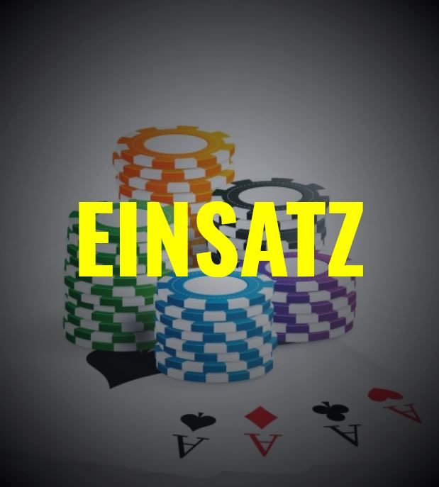 Blackjack Einsatz - Chips