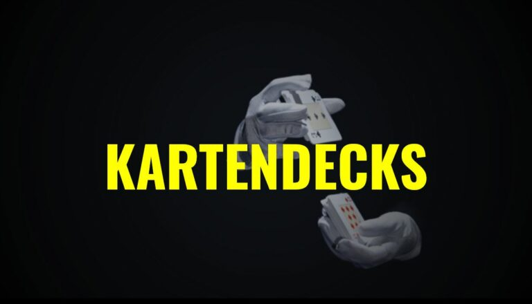 Blackjack Kartendecks