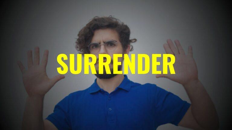 Blackjack Surrender - aufgeben