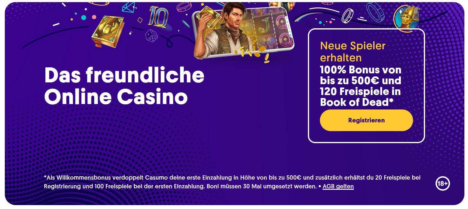 Online Casino Erfahrungen Casumo
